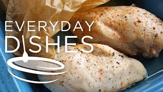 Have a recipe that calls for cooked chicken? This is your go-to recipe! Learn how to make super moist poached chicken breasts,...