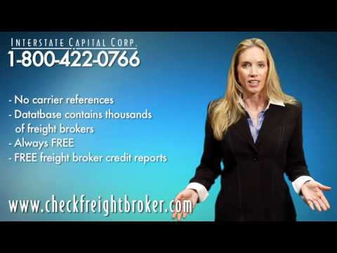 CheckFreightBroker.com: 10,000+ Freight Broker Credit Reports