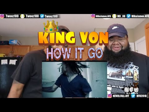 King Von - How It Go (Official Video) (REACTION)
