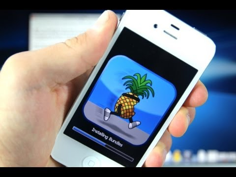 How To Jailbreak iOS 6 iPhone 4/3Gs iPod Touch 4G & Install Cydia – 6.0.1/6.0 Redsn0w 0.9.15b3