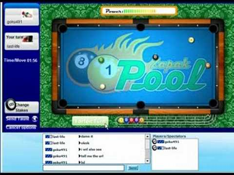 Zapak Pool Game For 10000