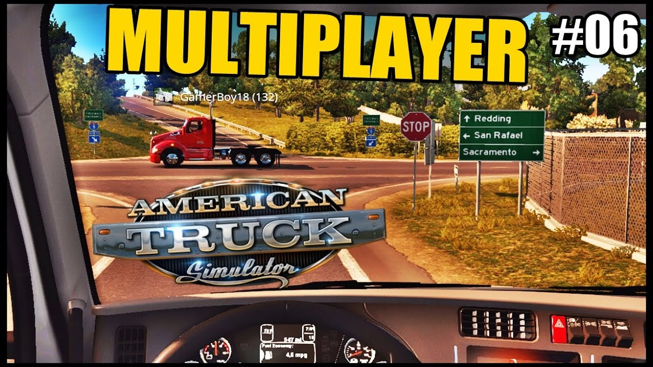 American Truck Simulator - Primeira vez no Multiplayer