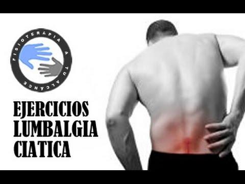 Lumbalgia y ciática, ejercicios para aliviar el dolor de espalda  / Fisioterapiatualcance.es