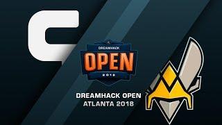 Ghost vs Vitality - DreamHack Open Atlana 2018 - bo1 - de_cache [MintGod]