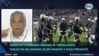 Pancadaria no jogo Vasco x Flamengo, Confusão no Jogo Vasco x Flamengo, Vasco 0x1 Flamengo - Melhores Momentos...