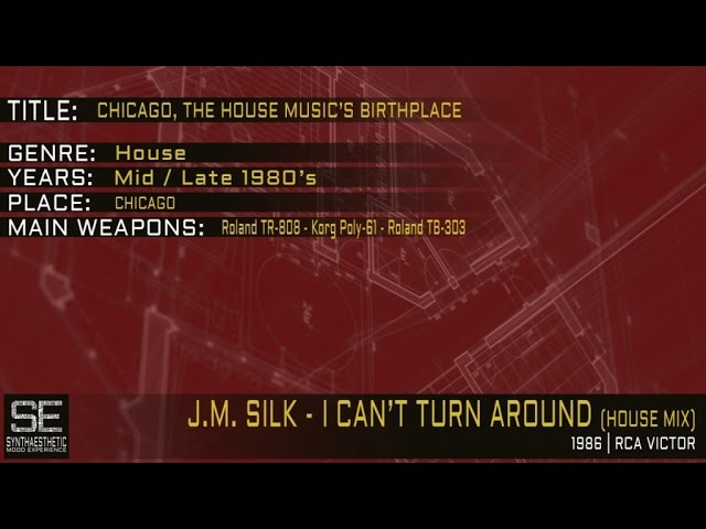 J m silk i cant turn around house mix rca victor 1986 for House music 1986