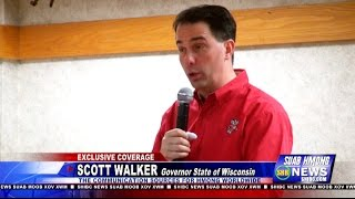 Suab Hmong News:  Scott Walker, Governor of Wisconsin, Visits the Wausau Hmong Community