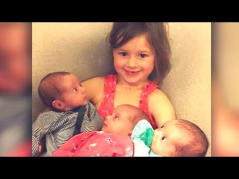 10 Days After These Triplets Were Born, Their Mother Felt A Stabbing Pain In Her Chest