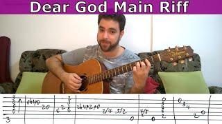Video Tutorial: Dear God main riff (Avenged Sevenfold) - Guitar Lesson w/ TAB MP3, 3GP, MP4, WEBM, AVI, FLV Mei 2018