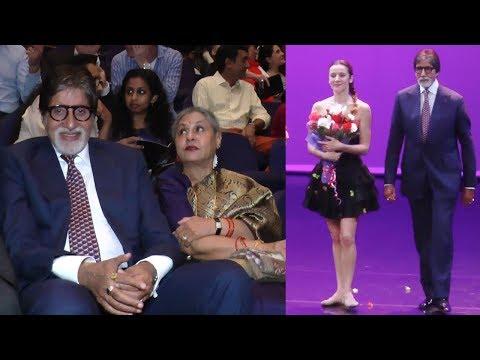 Amitabh Bachchan & Jaya Bachchan Attend Paris Ball