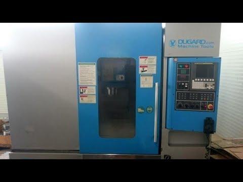 Centrum frezarskie pionowe CNC DUGARD EAGLE 850 VMC 2007