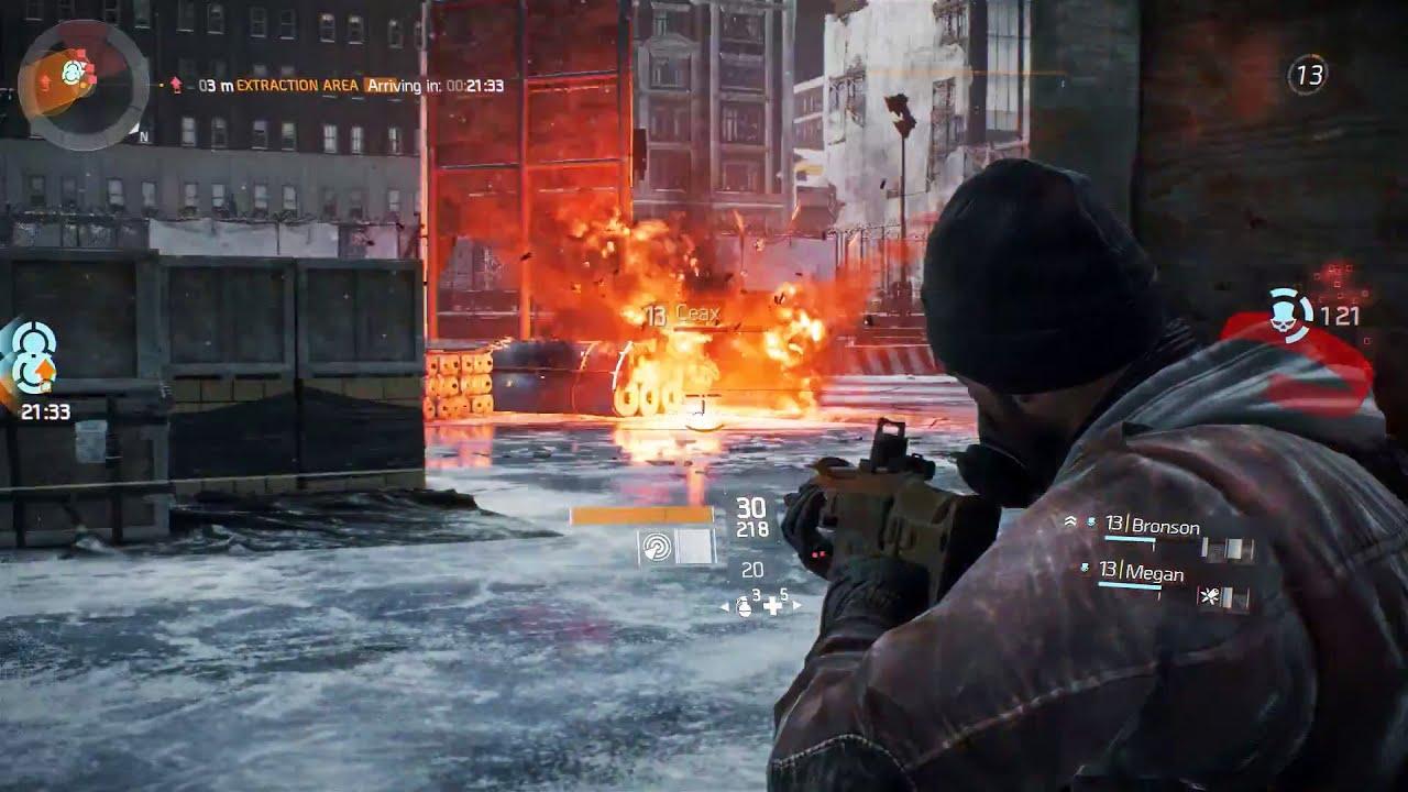 THE DIVISION Multiplayer Gameplay Walkthrough [E3 2015] #VideoJuegos #Consolas