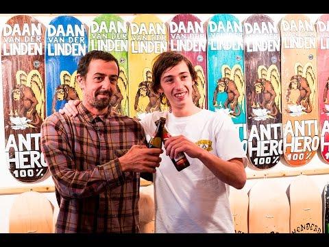 Daan van der Linden Pro Board release Area51 Eindje (Grant Taylor, Jake phelps, Daan van der Linden)