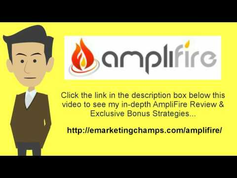 "[AmpliFire Review] Honest Review & Bonus Strategies:  (AmpliFire Review) See honest review of AmpliFire, learn how it works & discover BONUS strategies: http://emarketingchamps.com/amplifire/---------Resist the Urge of Staying in the Comfort ZoneWe all have a comfort zone and all of us are very fond of our personal comfort zone, so it is important to step out of the box and read a quality amplifire review page. It is very, very tempting to just stick with doing the things that we have always done and doing them in the same way we have always done them. However, staying in your comfort zone and refusing to expand your mind and your horizons can cause you and your internet business to fail. There is an old saying (probably made up by someone who was afraid of trying new things) that says, ""If it isn't broke, don't fix it."" Well, 'it' doesn't have to be broken in order to be improved upon whatever 'it' is.Candle light wasn't broken but we are all glad that electricity was harnessed. Electric light is still light but it is certainly a big improvement over candle light. Which is why one should put together a nice amplifire bonus package to offer potential customers. New ideas come along every day in the world of internet business. Some of those ideas are even good ones even if they do reside outside of our own personal comfort zone. In order to continue to invest in yourself, you must be willing to leave your own comfort zone. Just because what has worked is still working it doesn't mean that there are not newer, better and more efficient ways of doing things.Nobody is saying that new is always better. New is not always better but sometimes it is and the only way to tell which is which is by investigating new ideas yourself and then adapting the ones that can help you to your business. Invest in yourself by increasing your knowledge and don't be afraid of trying new things and new ways of doing things. These things really are the secrets of success and not just in the world of internet business but in life itself. AmpliFire Review - See honest review of AmpliFire, learn how it works & discover a unique Amplifire Bonus: http://www.ascendents.net/?v=eZl4_j4F73M"