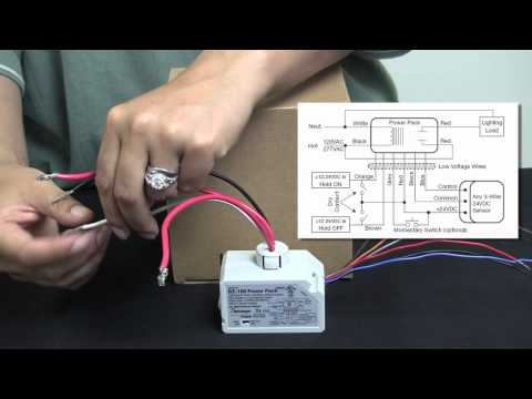 Wattstopper: How to: Wiring a BZ-150 Universal Voltage Power Pack