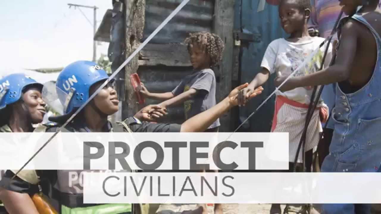 Миротворцы ООН – вместе за мир