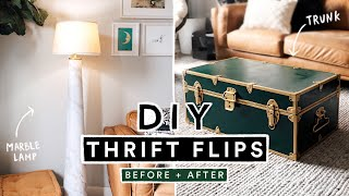 DIY THRIFT FLIP - Easy Home Decor Ideas on a BUDGET!