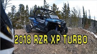 7. 2018 Polaris RZR XP Turbo Walkaround