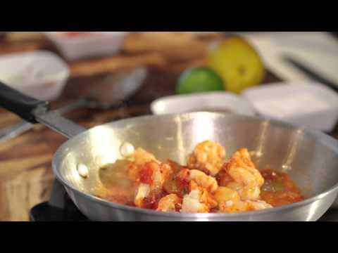 Hot Shrimp Salad : Fish & Seafood Recipes