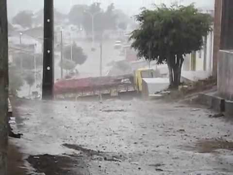 Chuva em Caturité em 2014
