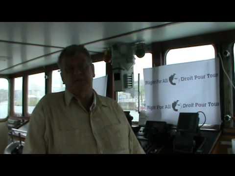 Bateau suisse pour Gaza : message du capitaine Hermann part 3