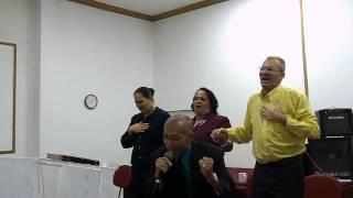 Cantor Aguinaldo Assis - Na Igreja Tabernáculo Divino