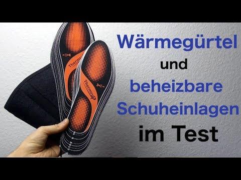 Wärmegürtel & beheizbare Schuheinlagen im Test