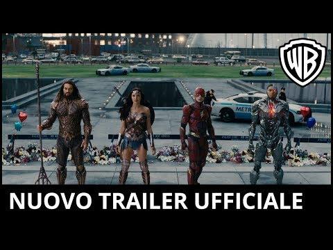 Preview Trailer Justice League, nuovo trailer ufficiale Italiano