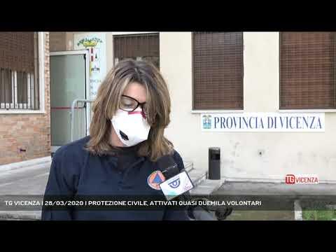 TG VICENZA | 28/03/2020 | PROTEZIONE CIVILE, ATTIVATI QUASI DUEMILA VOLONTARI