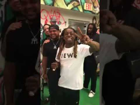 Weezy Surprise Party In Miami