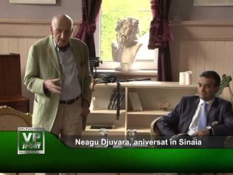 Neagu Djuvara, aniversat în Sinaia