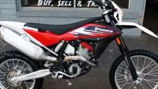 8. 2013 Husqvarna TE511 Off Road Motorcycle