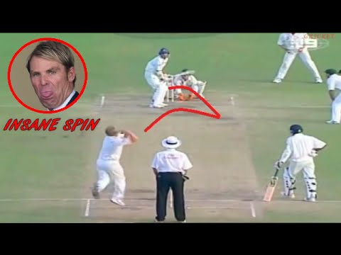 Top 10 Insane Spin Balls in Cricket History вMUST WATCHв