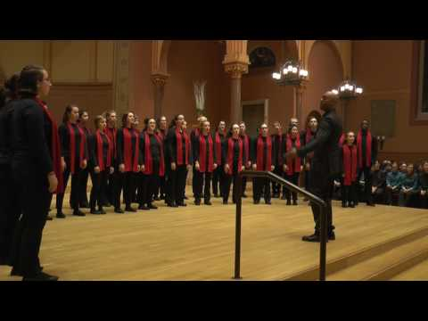 Mother Glasco performed by Boston City Singers' Tour Choir, Conducted by Kimani Lumsden - February 4, 2017