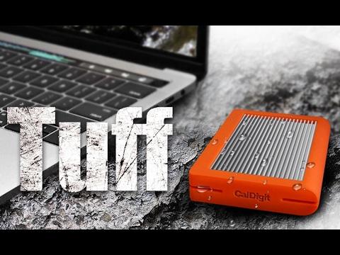 CalDigit TUFF 2TB USB Type-C 3.1 Rugged Drive Review