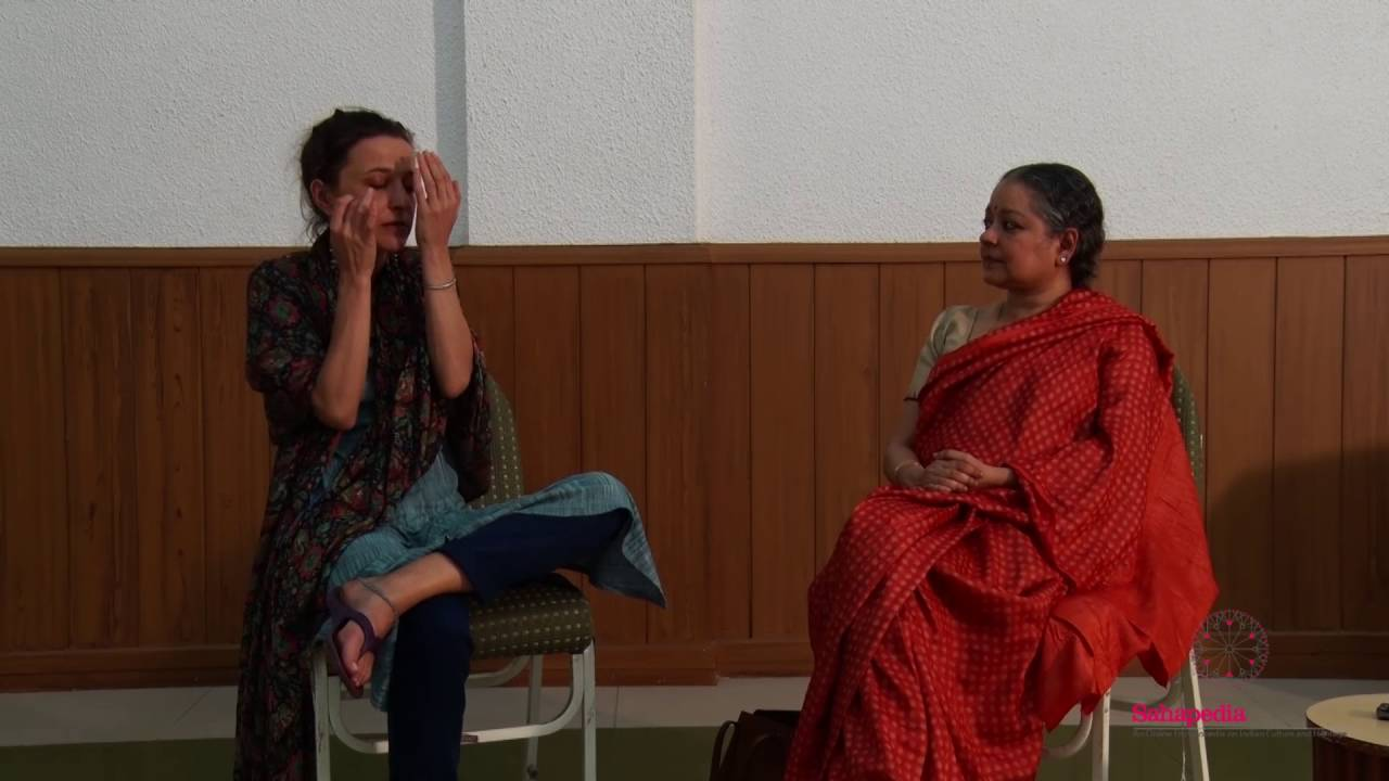 Kutiyattam: In Conversation with Virginie Johan