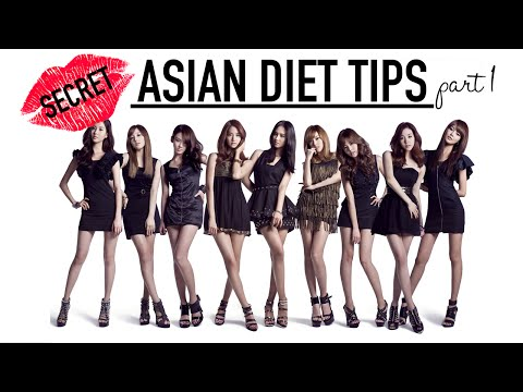 Asian Diet Secrets Part 1 ♥ Wengie ♥ Diet Plan ♥ Lose Weight ♥ Diet Tips and Nutrition