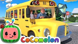 Video Wheels on the Bus | CoCoMelon Nursery Rhymes & Kids Songs MP3, 3GP, MP4, WEBM, AVI, FLV Maret 2019