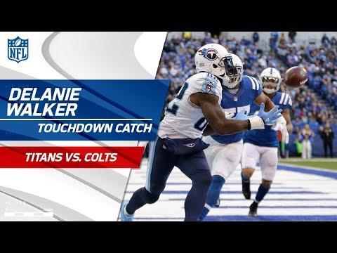 Video: Marlon Mack Fumbles the Pitch & Mariota Finds Walker for a TD! | Titans vs. Colts | NFL Wk 12