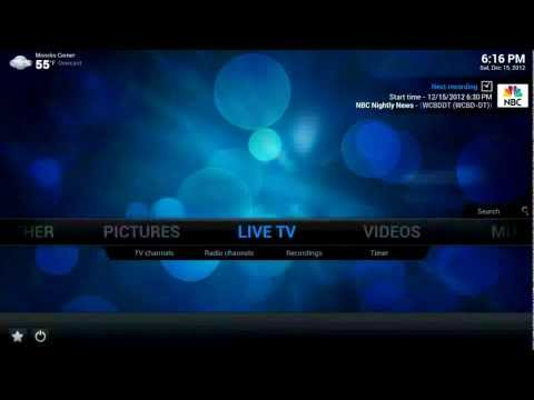PVR - Demonstration of the XBMC PVR Addon for MythTV. Software versions: XBMC 12.0 RC-1 (Frodo) MythTV .025 with fixes Ubuntu 12.04 As of v12 (Frodo), XBMC feature...
