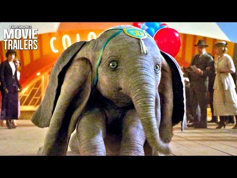 DUMBO (2019) | Clip and Trailer Compilation - Disney Live-Action Movie