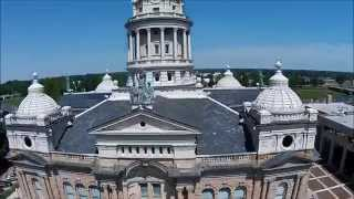 Troy (OH) United States  city photos : Sky Cam - Miami County Courthouse - Troy, OH