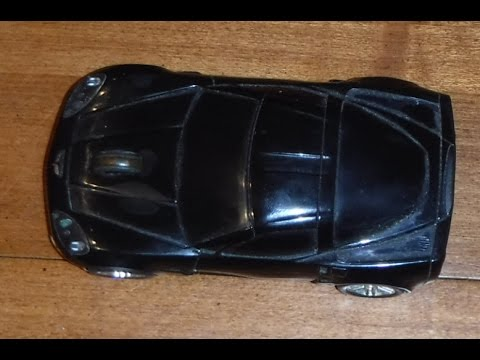 HP wireless 2.4 ghz corvette mouse review