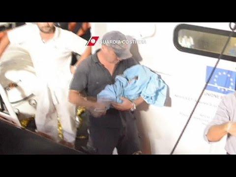 Διασώσεις δεκάδων μεταναστών ανοιχτά της Λιβύης