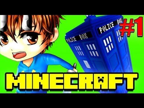 Minecraft TARDIS Doctor Who Adventure Map! - Part 1/2