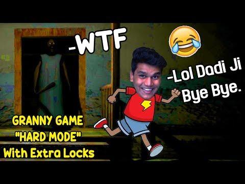 *HARD MODE* Me Dadi Ji Ke Ghar Se bhag Gaya - GRANNY HORROR GAME (Hard Mode with Extra Locks)