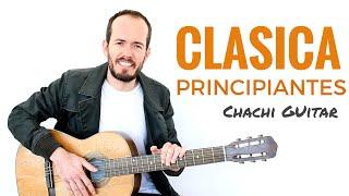 Guitarra Clásica para Principiantes  Empieza con algo fácil y bonito TAB