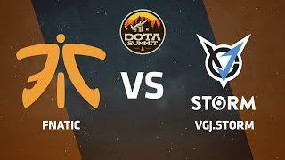 Fnatic против VGJ.Storm, Первая карта, DOTA Summit 9 LAN-Final