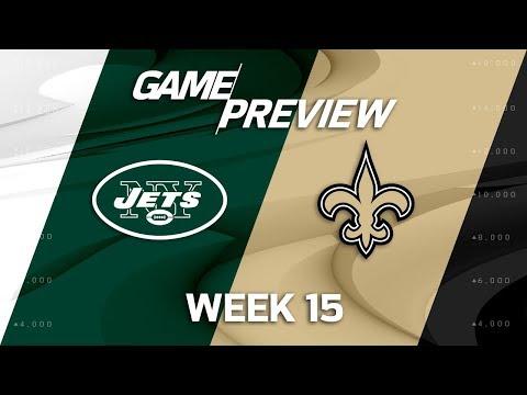 Video: New York Jets vs. New Orleans Saints | NFL Week 15 Game Preview | NFL Playbook
