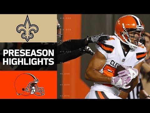 Saints vs. Browns | NFL Preseason Week 1 Game Highlights - Thời lượng: 3:46.